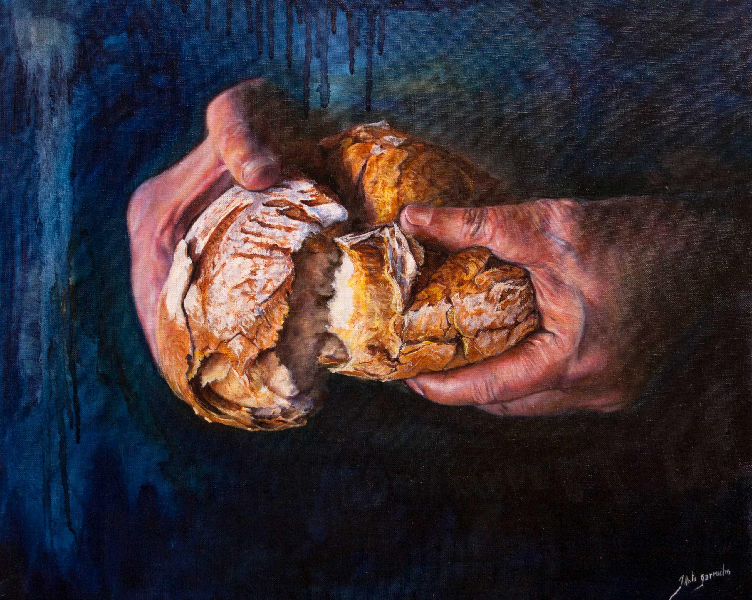 Partiendo el pan