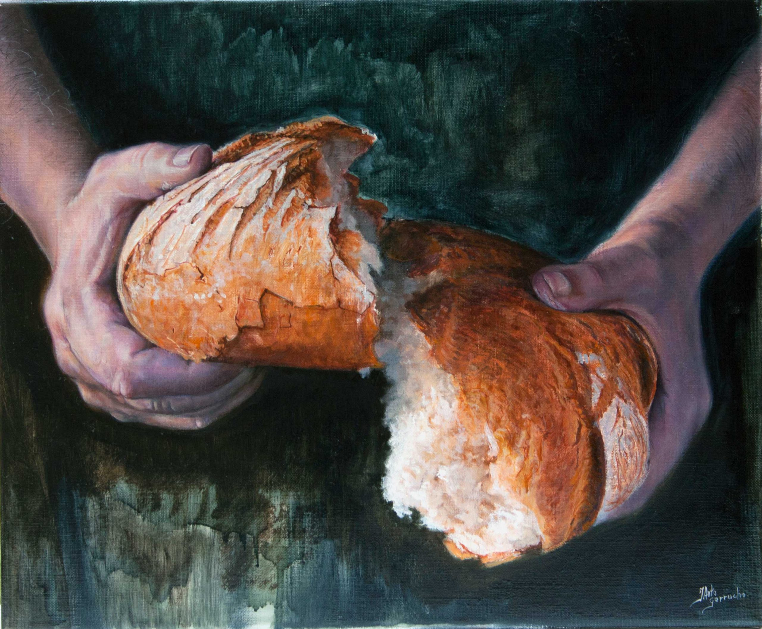 la división del pan