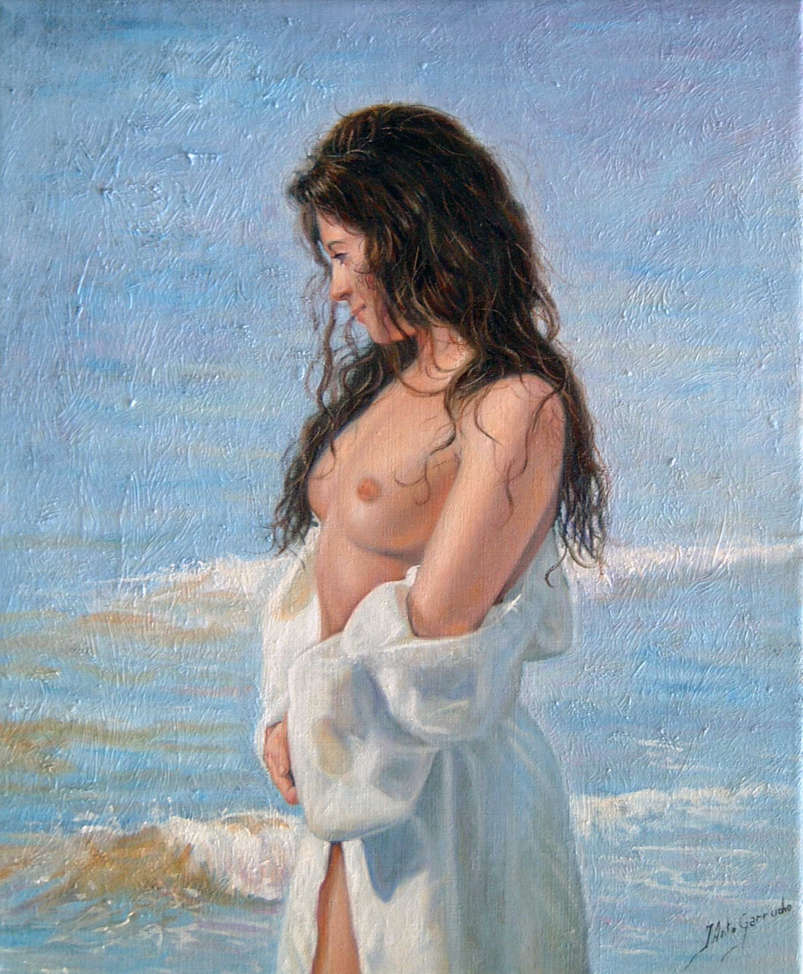 Mujer de blanco